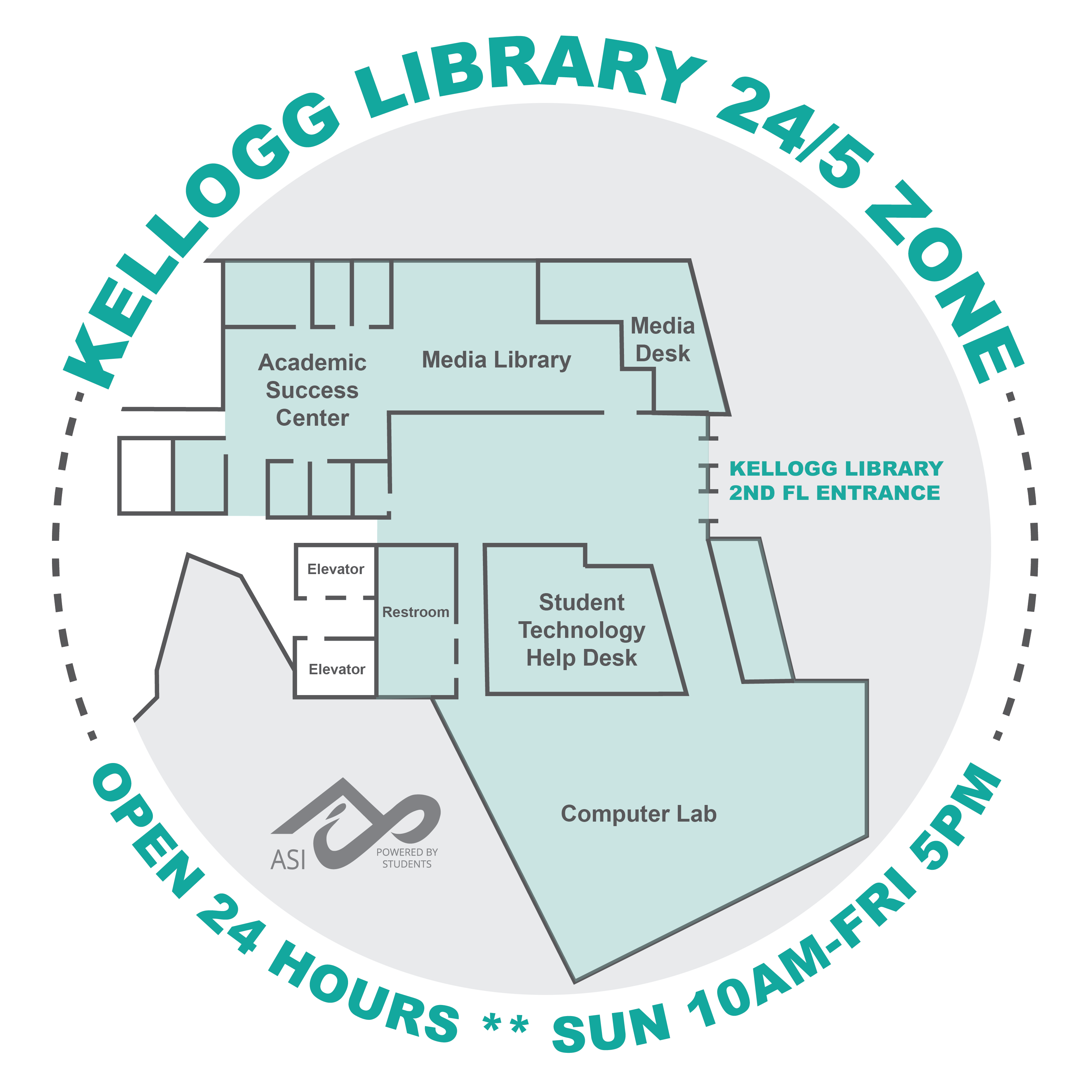 Kellogg Library 24/5 Zone