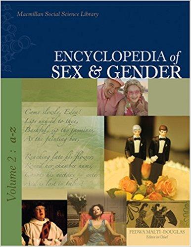 Image of book Encyclopedia of Sex & Gender