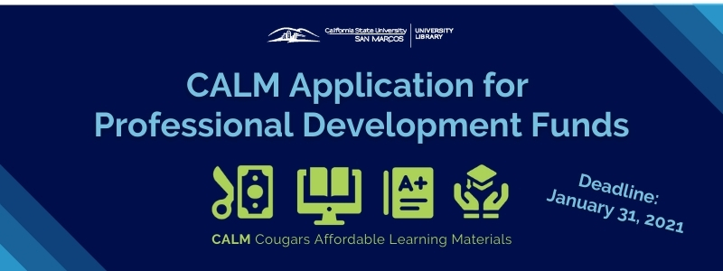 Image for the Spotlight on CALM Application for Professional Development Funds