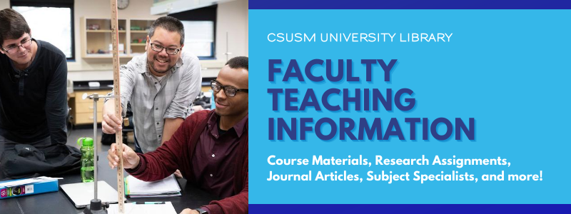 Image for the Spotlight on University Library Faculty Teaching Information